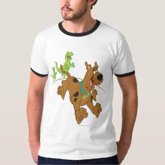 Scooby Doo Dinosaur Chasing2 T-Shirt