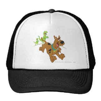 Scooby Doo Dinosaur Chasing2 Trucker Hat