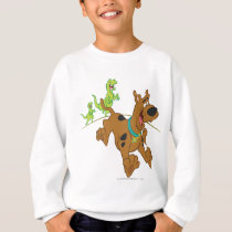 Scooby-Doo Dinosaur Escape Sweatshirt