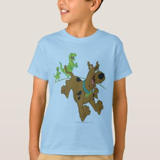 Scooby-Doo Dinosaur Escape T-Shirt