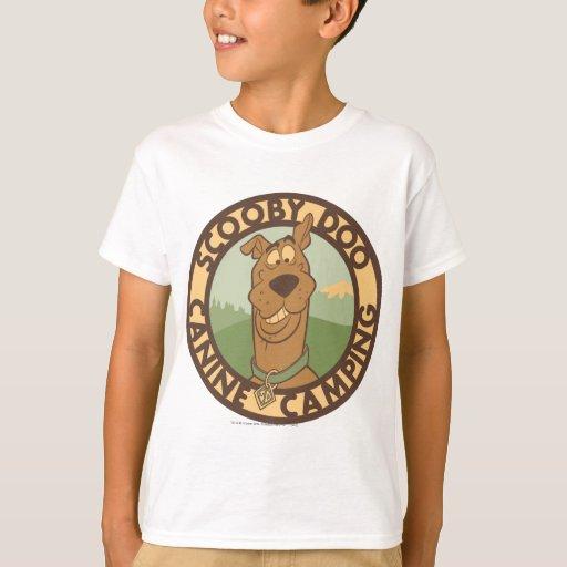 """Scooby Doo el """"acampar del colmillo """" Remera"""