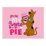 Scooby Doo - empanada del Sweetie Postal