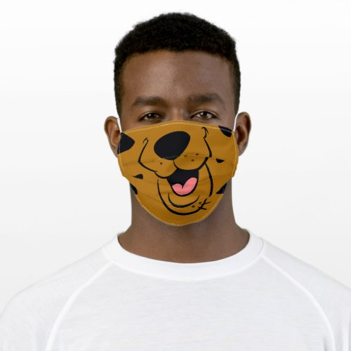 Scooby_Doo Face Adult Cloth Face Mask