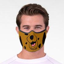Scooby-Doo Face Premium Face Mask