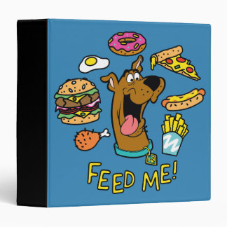 Scooby-Doo Feed Me! 3 Ring Binder