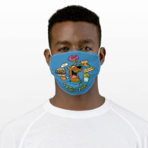 Scooby-Doo Feed Me! Adult Cloth Face Mask