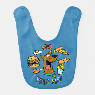 Scooby-Doo Feed Me! Bib