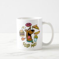 Scooby-Doo Feed Me! Coffee Mug