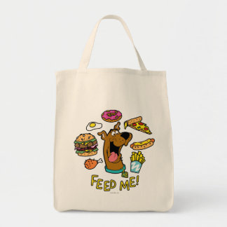 Scooby-Doo Feed Me! Grocery Tote Bag