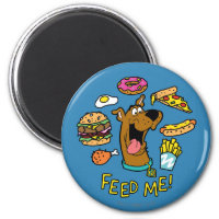 Scooby-Doo Feed Me! Magnet