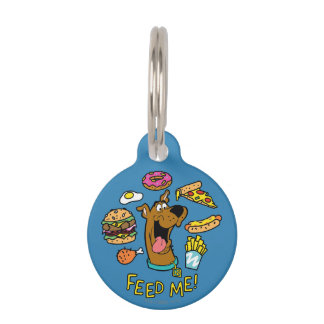 Scooby-Doo Feed Me! Pet ID Tag
