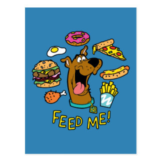 Scooby-Doo Feed Me! Postcard