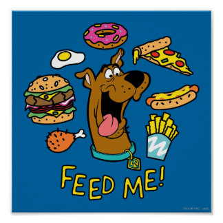 Scooby-Doo Feed Me! Poster