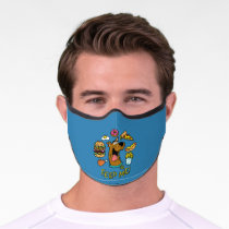 Scooby-Doo Feed Me! Premium Face Mask
