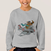 Scooby-Doo Flying Plane Sweatshirt