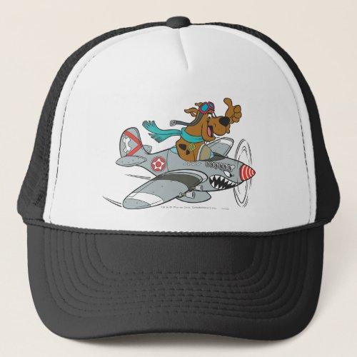 Scooby_Doo Flying Plane Trucker Hat