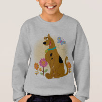 Scooby-Doo Following Butterfly Sweatshirt