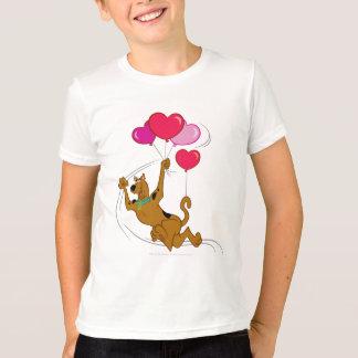 Scooby Doo - globos del corazón Playera