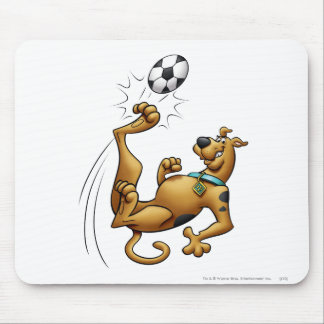 Scooby Doo Goal Sports Airbrush Pose 1 Mouse Pad