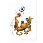 Scooby Doo Goal Sports Airbrush Pose 1 Post Card