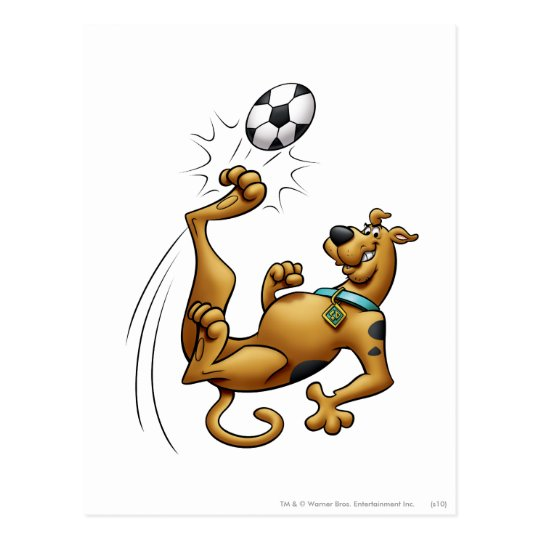 Scooby Doo Goal Sports Airbrush Pose 1 Postcard