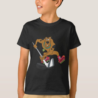 Scooby Doo Goal Sports Pose 4 T-Shirt