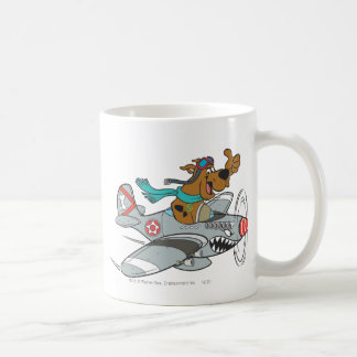 Scooby Doo Goal Transportation Pose 14 Classic White Coffee Mug