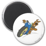 Scooby Doo Goal Transportation Pose 23 2 Inch Round Magnet