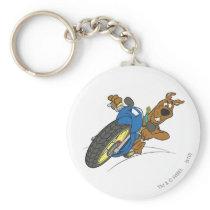 Scooby Doo Goal Transportation Pose 23 Keychain