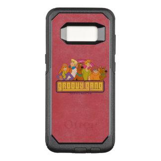 "Scooby-Doo | ""Groovy Gang"" Retro Cartoon Graphic OtterBox Commuter Samsung Galaxy S8 Case"