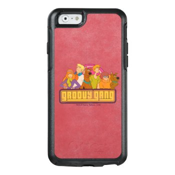 """Scooby-doo   """"groovy Gang"""" Retro Cartoon Graphic Otterbox Iphone 6/6s Case by scoobydoo at Zazzle"""