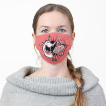 Scooby-Doo Halftone Scooby Snacks Adult Cloth Face Mask