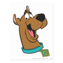 Scooby-Doo Happy Face Postcard