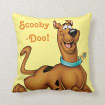 Scooby-Doo Happy Walk Throw Pillow