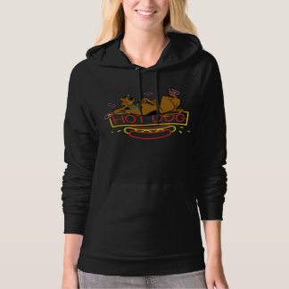 Scooby-Doo Hot Dog Neon Sign Hooded Pullover