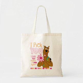 Scooby Doo - I Pick You Canvas Bag
