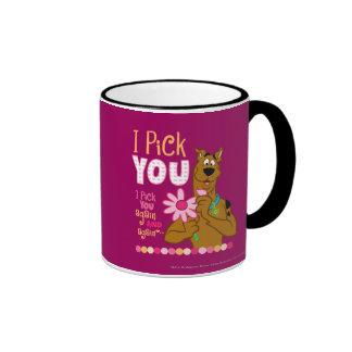 Scooby Doo - I Pick You Ringer Mug