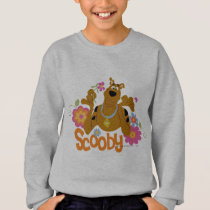 Scooby-Doo In Flowers Sweatshirt