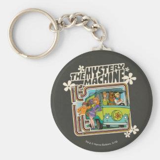 "Scooby-Doo | ""It's Lit"" Mystery Machine Graphic Keychain"