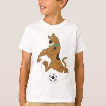 Scooby-Doo Kicking Soccer Ball T-Shirt
