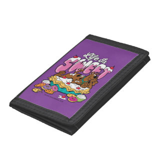 """Scooby-Doo """"Life Is Sweet"""" Trifold Wallet"""