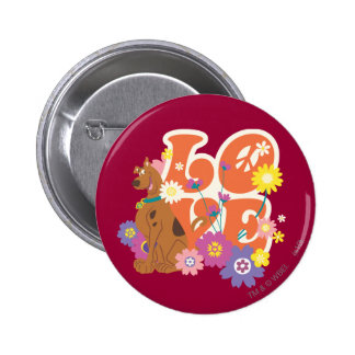 """Scooby Doo """"Love"""" 2 Inch Round Button"""