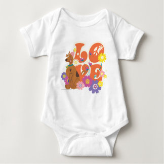 "Scooby Doo ""Love"" Baby Bodysuit"