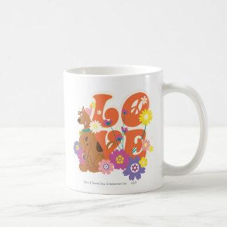 "Scooby Doo ""Love"" Classic White Coffee Mug"