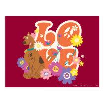 "Scooby-Doo ""Love"" Postcard"