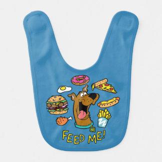 ¡Scooby-Doo me alimenta! Baberos De Bebé