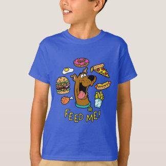 ¡Scooby-Doo me alimenta! Playera