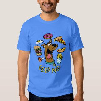 ¡Scooby-Doo me alimenta! Playeras