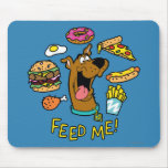 ¡Scooby-Doo me alimenta! Tapete De Raton