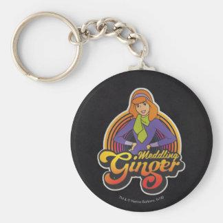 "Scooby-Doo | ""Meddling Ginger"" Daphne Keychain"